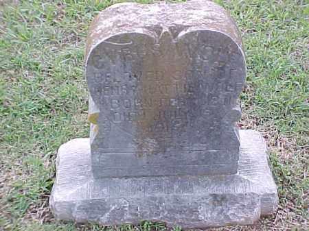 WOLF, CYRUS - Pulaski County, Arkansas | CYRUS WOLF - Arkansas Gravestone Photos