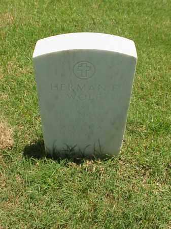 WOLF (VETERAN WWI), HERMAN F - Pulaski County, Arkansas | HERMAN F WOLF (VETERAN WWI) - Arkansas Gravestone Photos