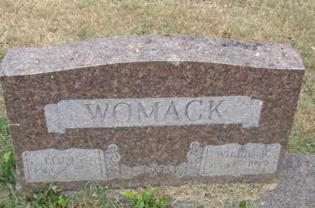 WOMACK, LOUIS - Pulaski County, Arkansas | LOUIS WOMACK - Arkansas Gravestone Photos