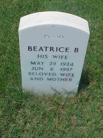 WOOD, BEATRICE B - Pulaski County, Arkansas | BEATRICE B WOOD - Arkansas Gravestone Photos