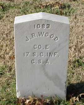WOOD (VETERAN CSA), J R - Pulaski County, Arkansas | J R WOOD (VETERAN CSA) - Arkansas Gravestone Photos