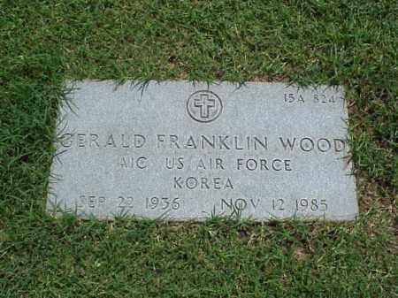 WOOD (VETERAN KOR), GERALD FRANKLIN - Pulaski County, Arkansas | GERALD FRANKLIN WOOD (VETERAN KOR) - Arkansas Gravestone Photos