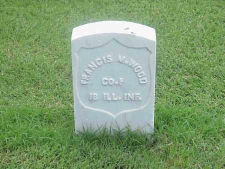 WOOD (VETERAN UNION), FRANCIS M - Pulaski County, Arkansas   FRANCIS M WOOD (VETERAN UNION) - Arkansas Gravestone Photos