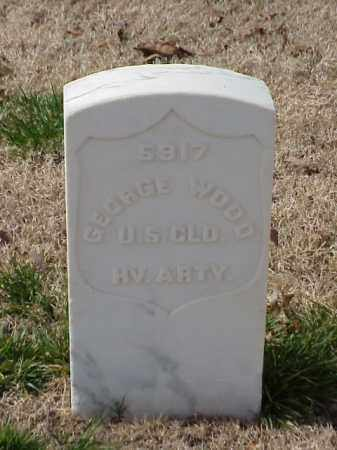 WOOD (VETERAN UNION), GEORGE - Pulaski County, Arkansas | GEORGE WOOD (VETERAN UNION) - Arkansas Gravestone Photos