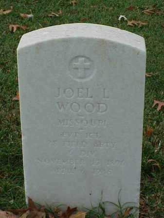 WOOD (VETERAN WWI), JOEL L - Pulaski County, Arkansas | JOEL L WOOD (VETERAN WWI) - Arkansas Gravestone Photos