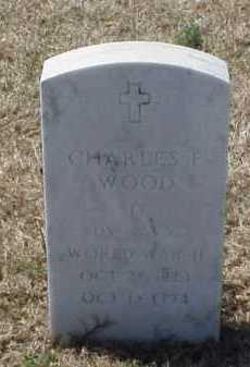 WOOD (VETERAN WWII), CHARLES F - Pulaski County, Arkansas | CHARLES F WOOD (VETERAN WWII) - Arkansas Gravestone Photos