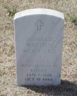 WOODARD (VETERAN 2 WARS), DONALD WALTON - Pulaski County, Arkansas | DONALD WALTON WOODARD (VETERAN 2 WARS) - Arkansas Gravestone Photos