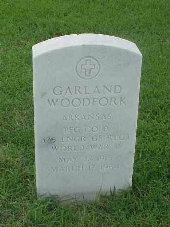 WOODFORD (VETERAN WWII), GARLAND - Pulaski County, Arkansas   GARLAND WOODFORD (VETERAN WWII) - Arkansas Gravestone Photos