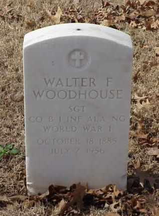 WOODHOUSE (VETERAN WWI), WALTER F - Pulaski County, Arkansas | WALTER F WOODHOUSE (VETERAN WWI) - Arkansas Gravestone Photos