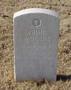 WOODIE (VETERAN WWI), PRIME - Pulaski County, Arkansas   PRIME WOODIE (VETERAN WWI) - Arkansas Gravestone Photos