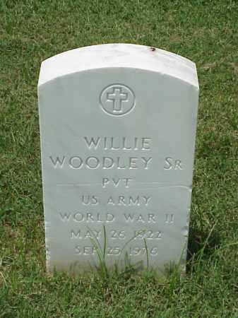 WOODLEY, SR (VETERAN WWII), WILLIE - Pulaski County, Arkansas   WILLIE WOODLEY, SR (VETERAN WWII) - Arkansas Gravestone Photos