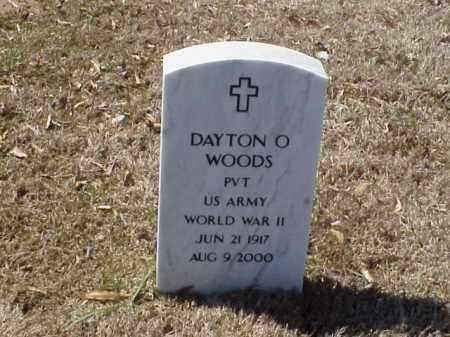 WOODS  (VETERAN WWII), DAYTON O - Pulaski County, Arkansas | DAYTON O WOODS  (VETERAN WWII) - Arkansas Gravestone Photos