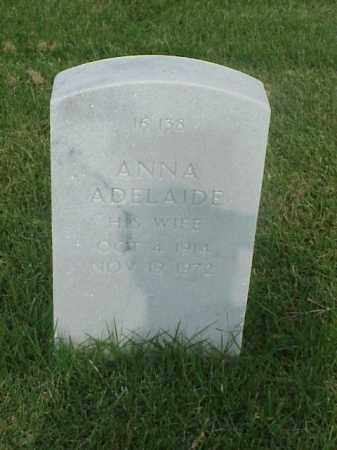 WOODS, ANNA ADELAIDE - Pulaski County, Arkansas   ANNA ADELAIDE WOODS - Arkansas Gravestone Photos