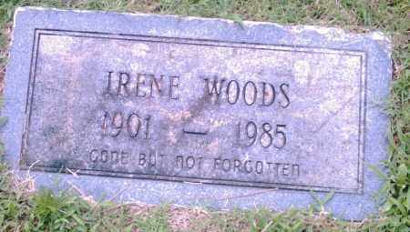 WOODS, IRENE - Pulaski County, Arkansas | IRENE WOODS - Arkansas Gravestone Photos