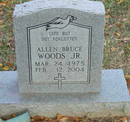 WOODS, JR., ALLEN BRUCE - Pulaski County, Arkansas | ALLEN BRUCE WOODS, JR. - Arkansas Gravestone Photos