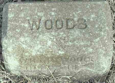 WOODS, MILES - Pulaski County, Arkansas | MILES WOODS - Arkansas Gravestone Photos