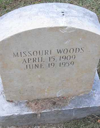 WOODS, MISSOURI - Pulaski County, Arkansas | MISSOURI WOODS - Arkansas Gravestone Photos