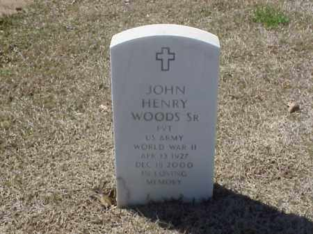 WOODS, SR (VETERAN WWII), JOHN HENRY - Pulaski County, Arkansas   JOHN HENRY WOODS, SR (VETERAN WWII) - Arkansas Gravestone Photos