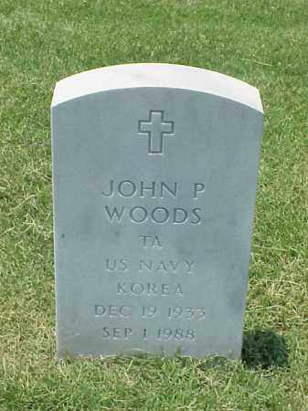 WOODS (VETERAN KOR), JOHN PRESTON - Pulaski County, Arkansas | JOHN PRESTON WOODS (VETERAN KOR) - Arkansas Gravestone Photos