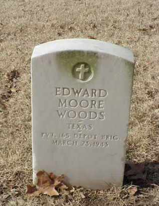 WOODS (VETERAN WWI), EDWARD MOORE - Pulaski County, Arkansas | EDWARD MOORE WOODS (VETERAN WWI) - Arkansas Gravestone Photos
