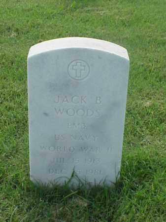 WOODS (VETERAN WWII), JACK BRYANT - Pulaski County, Arkansas | JACK BRYANT WOODS (VETERAN WWII) - Arkansas Gravestone Photos
