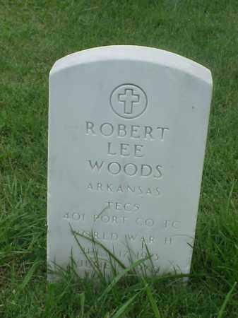 WOODS (VETERAN WWII), ROBERT LEE - Pulaski County, Arkansas | ROBERT LEE WOODS (VETERAN WWII) - Arkansas Gravestone Photos