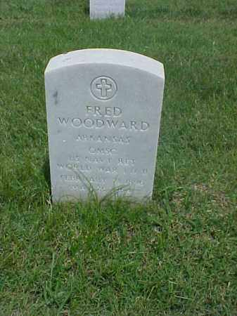 WOODWARD (VETERAN 2 WARS), FRED - Pulaski County, Arkansas   FRED WOODWARD (VETERAN 2 WARS) - Arkansas Gravestone Photos