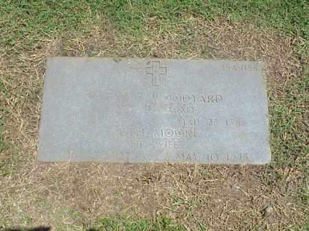 WOODYARD (VETERAN WWI), OSCAR F - Pulaski County, Arkansas | OSCAR F WOODYARD (VETERAN WWI) - Arkansas Gravestone Photos