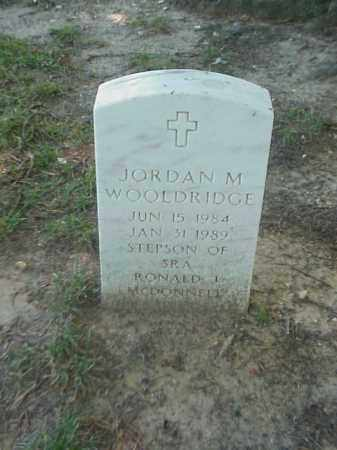 WOOLDRIDGE, JORDAN M - Pulaski County, Arkansas | JORDAN M WOOLDRIDGE - Arkansas Gravestone Photos