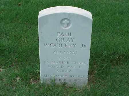 WOOLERY, JR (VETERAN 2 WARS), PAUL GRAY - Pulaski County, Arkansas   PAUL GRAY WOOLERY, JR (VETERAN 2 WARS) - Arkansas Gravestone Photos