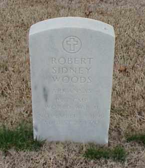 WOODS  (VETERAN WWII), ROBERT SIDNEY - Pulaski County, Arkansas | ROBERT SIDNEY WOODS  (VETERAN WWII) - Arkansas Gravestone Photos