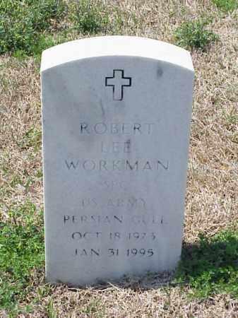 WORKMAN (VETERAN PGW), ROBERT LEE - Pulaski County, Arkansas   ROBERT LEE WORKMAN (VETERAN PGW) - Arkansas Gravestone Photos