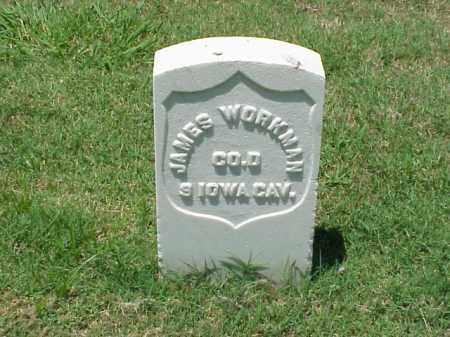 WORKMAN (VETERAN UNION), JAMES - Pulaski County, Arkansas | JAMES WORKMAN (VETERAN UNION) - Arkansas Gravestone Photos