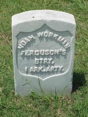 WORKMAN (VETERAN UNION), NOAH - Pulaski County, Arkansas | NOAH WORKMAN (VETERAN UNION) - Arkansas Gravestone Photos