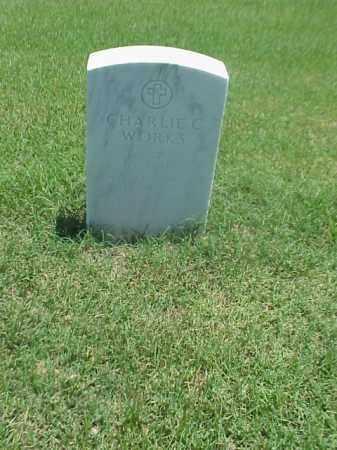 WORKS (VETERAN WWII), CHARLIE C - Pulaski County, Arkansas | CHARLIE C WORKS (VETERAN WWII) - Arkansas Gravestone Photos