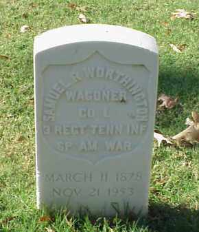 WORTHINGTON (VETERAN SAW), SAMUEL R - Pulaski County, Arkansas | SAMUEL R WORTHINGTON (VETERAN SAW) - Arkansas Gravestone Photos