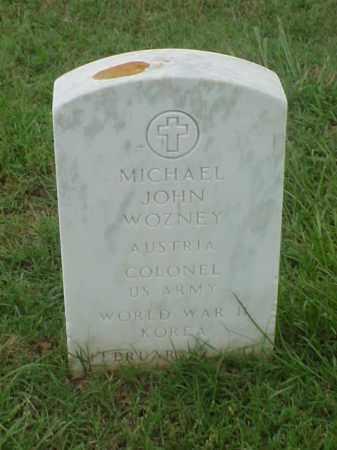 WOZNEY (VETERAN  2 WARS), MICHAEL JOHN - Pulaski County, Arkansas   MICHAEL JOHN WOZNEY (VETERAN  2 WARS) - Arkansas Gravestone Photos