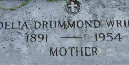 DRUMMOND WRIGHT, DELIA - Pulaski County, Arkansas | DELIA DRUMMOND WRIGHT - Arkansas Gravestone Photos