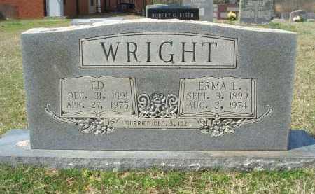 WRIGHT, ERMA LUCILLE - Pulaski County, Arkansas | ERMA LUCILLE WRIGHT - Arkansas Gravestone Photos