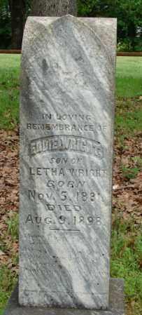 WRIGHT, EDDIE - Pulaski County, Arkansas | EDDIE WRIGHT - Arkansas Gravestone Photos