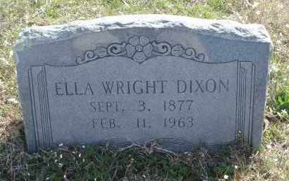 WRIGHT, ELLA - Pulaski County, Arkansas   ELLA WRIGHT - Arkansas Gravestone Photos