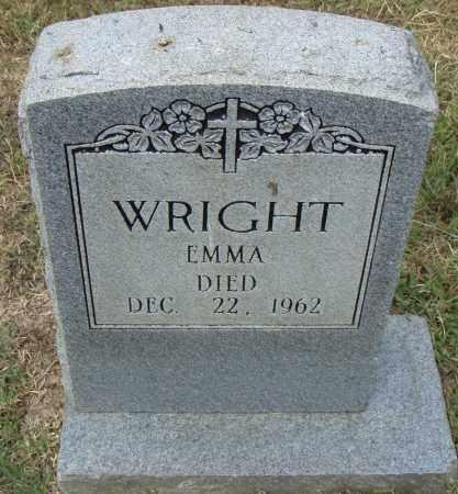 WRIGHT, EMMA - Pulaski County, Arkansas   EMMA WRIGHT - Arkansas Gravestone Photos