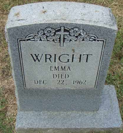 WRIGHT, EMMA - Pulaski County, Arkansas | EMMA WRIGHT - Arkansas Gravestone Photos