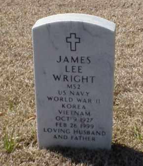 WRIGHT (VETERAN 3 WARS), JAMES LEE - Pulaski County, Arkansas | JAMES LEE WRIGHT (VETERAN 3 WARS) - Arkansas Gravestone Photos