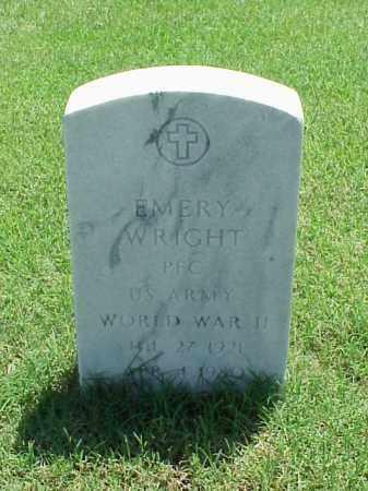 WRIGHT (VETERAN WWII), EMERY - Pulaski County, Arkansas | EMERY WRIGHT (VETERAN WWII) - Arkansas Gravestone Photos