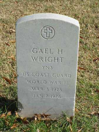 WRIGHT (VETERAN WWII), GAEL H - Pulaski County, Arkansas | GAEL H WRIGHT (VETERAN WWII) - Arkansas Gravestone Photos
