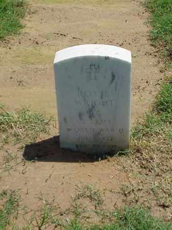 WRIGHT (VETERAN WWII), ROY E - Pulaski County, Arkansas | ROY E WRIGHT (VETERAN WWII) - Arkansas Gravestone Photos