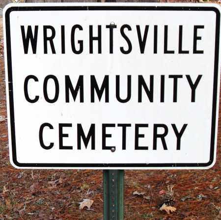 *WRIGHTSVILLE COMMUNITY CEMETE,  - Pulaski County, Arkansas    *WRIGHTSVILLE COMMUNITY CEMETE - Arkansas Gravestone Photos