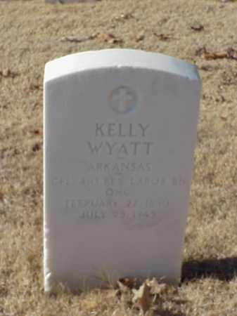 WYATT (VETERAN WWI), KELLY - Pulaski County, Arkansas | KELLY WYATT (VETERAN WWI) - Arkansas Gravestone Photos