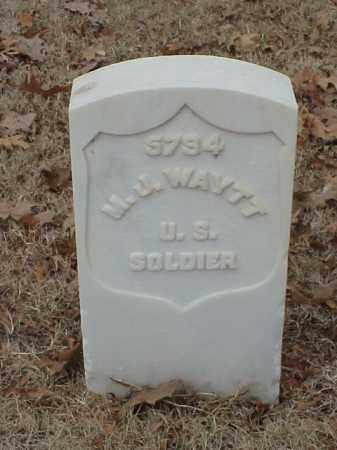 WYATT (VETERAN UNION), M J - Pulaski County, Arkansas | M J WYATT (VETERAN UNION) - Arkansas Gravestone Photos